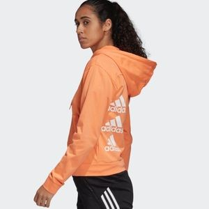 adidas MUST HAVES STACKED LOGO HOODIE